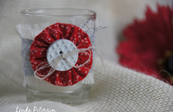 Embellished Patriotic Votive