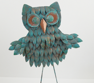 ... consider creating your own Painted Plate Owl. You might think that these crafts are for kids but this is actually a sophisticated project youu0027ll want ... & Painted Plate Owl | FaveCrafts.com
