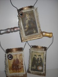 Antique Recycled Favor Pouches