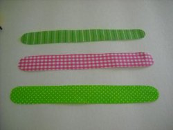 Craft Stick Button Bracelets