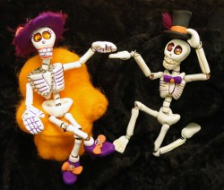 Polymer Clay Skeleton