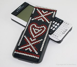 Blinged Out Calculator Cover