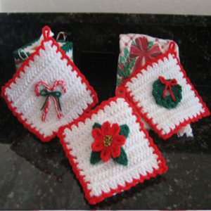 Christmas Decoration Potholders