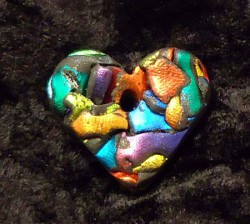 Colorful Heart Pendant