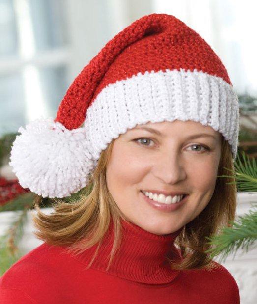 Crochet Santa Hat | FaveCrafts.com