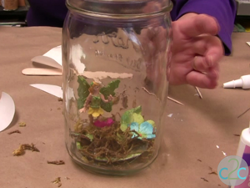 Recycled Fairy Jar