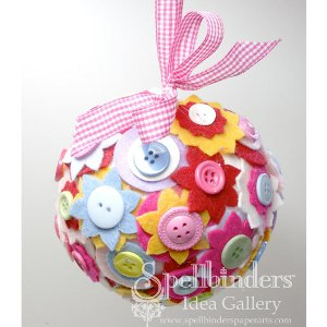 felt button ball