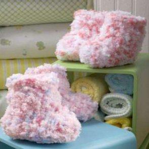 How to crochet amigurumi with fuzzy eyelash yarn.   294x294