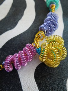 Funky Wire Necklace