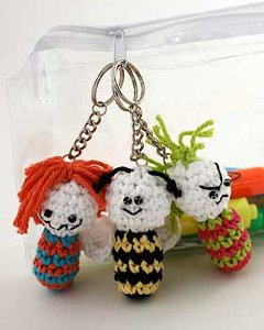 Funny Crochet Charms