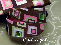 No Sew Fabric Bracelet