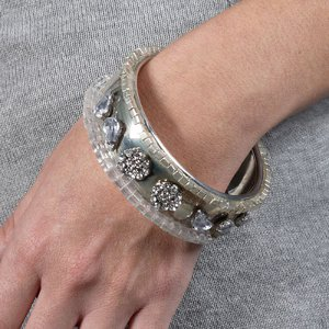 Glammed Up DIY Bracelet