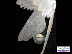 Angel Candle Cover
