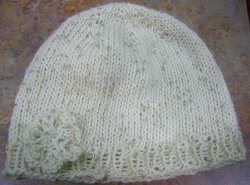 Isis Knit Hat and Flower Pattern