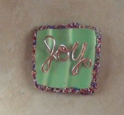 Joy Pottery Magnet
