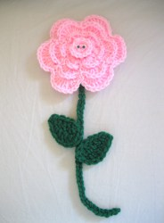 Large Happy Flower Crochet Pattern