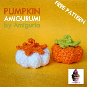 Mini Crochet Pumpkins