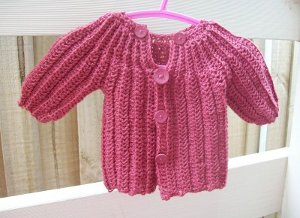 47e8f59ff8fa How to Make a Crochet Baby Sweater  6 Free Pattern Ideas ...