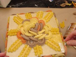 Macaroni and Pasta Art Box