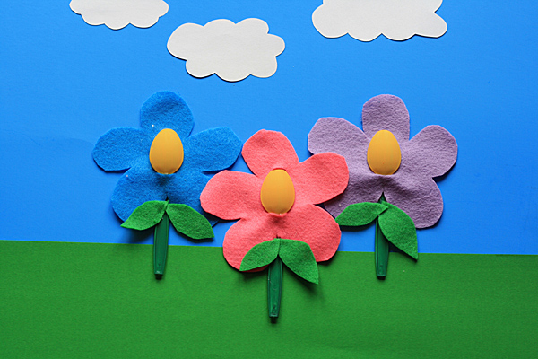 Recycled Spoon Flower Art