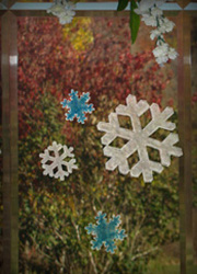 Snowflake Window Decal