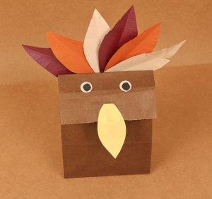 Thanksgiving Turkey Goodie Bags