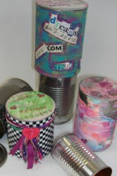 Tin Can Gift Holders