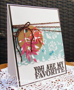 You Are My Favorite DIY Card