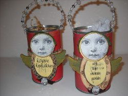 Angel Gift Cans