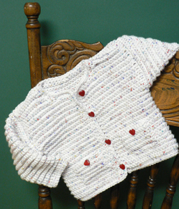 Tweed Baby Jacket