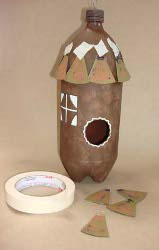 Plastic Bottle Birdhouse Favecrafts Com
