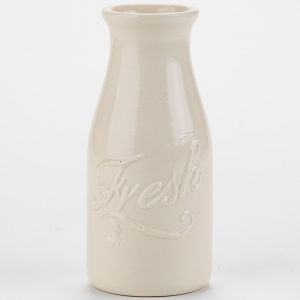 Charming Country Milk Bottle