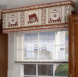 Cheery Cherry Kitchen Cornice