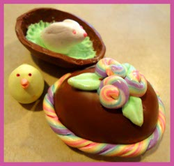 Polymer Clay Easter Box