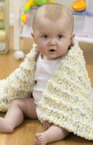 The Coziest Baby Blanket Ever