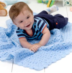 Crocheted Baby Comfort Blanket