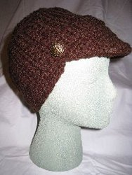 Sue's Fleece-Lined Brimmed Hat