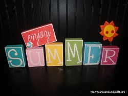 Enjoy Summer Blocks