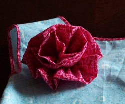 Tutorial: Learn To Make A Fabric Flower