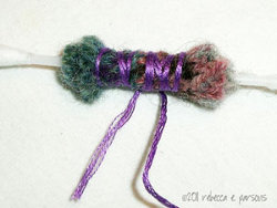Recycled Wool Sweater Beads