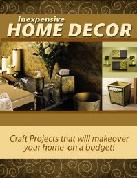 """Inexpensive Home Decor"" eBook"
