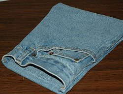 Denim Pocket Purse