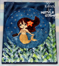 Little Mermaid Canvas Tutorial