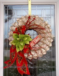Musical Christmas Wreath How to Make Wreaths