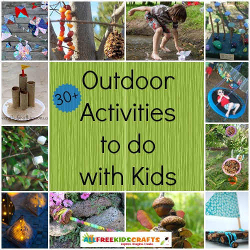 Outdoor Activities to do with Kids
