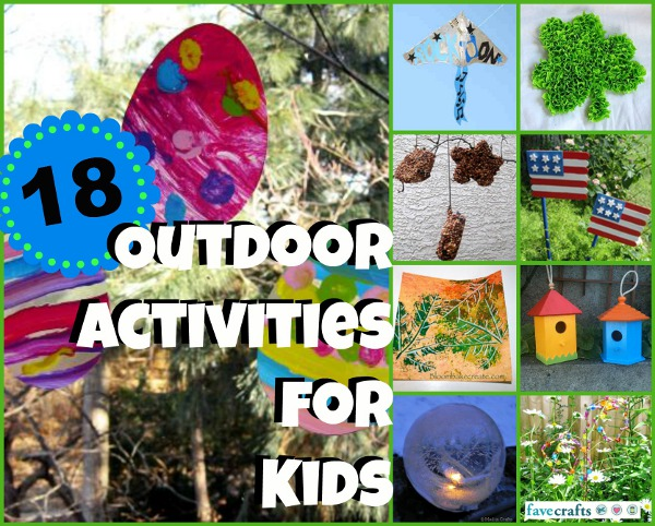 18 Outdoor Activities for Kids
