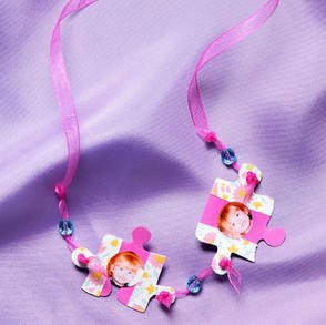 Puzzle Piece DIY Necklace