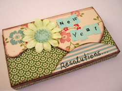 New Year's Resolutions Remind Box