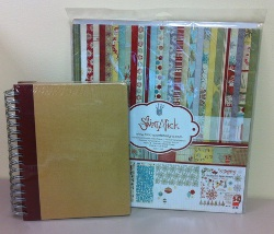 Fancy Pants Designs Saint Nick Kit and Brag Book