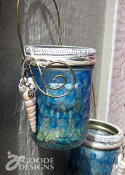 Under the Sea Hanging Votive Holder